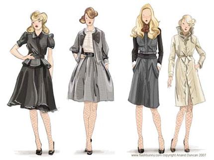 دوره آموزشی طراحی لباس