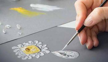 مجتمع فنی تهران - دوره آموزشی طراحی دستی جواهرات مجتمع فنی تهران