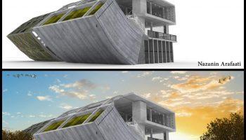 مجتمع فنی تهران - نمایندگی نیاوران - دوره آموزشی فتوشاپ در معماری(پست پروداکشن)