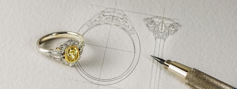 دوره آموزشی طراحی طلا و جواهر دستی