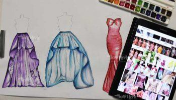 مجتمع فنی تهران - نمایندگی نیاوران - دوره آموزشی طراحی لباس پیشرفته
