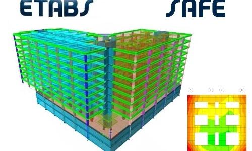 دوره آموزشی دوره جامع محاسبات ساختمان به کمک ETABS/SAFE سطح پیشرفته