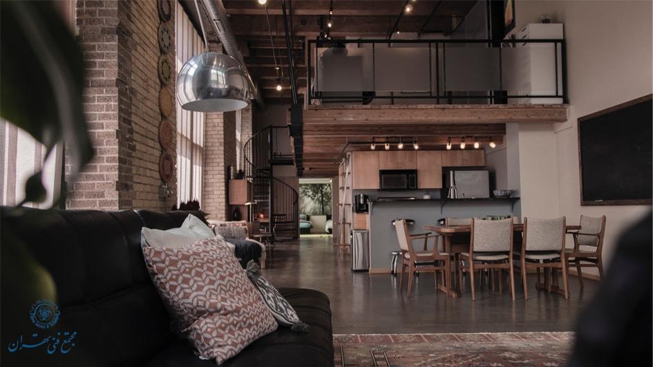 سبک مدرن طراحی داخلی