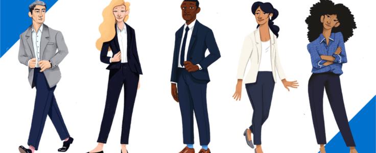 طراحی لباس مشاغل(آنلاین)