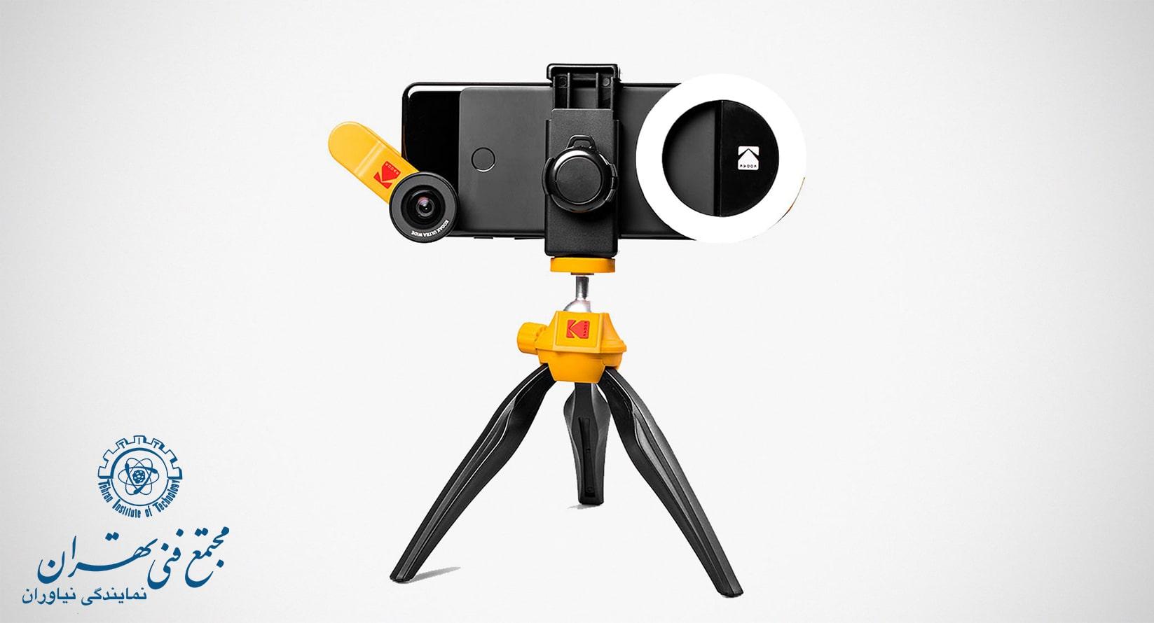 استفاده از سه پایه در عکاسی با موبایل